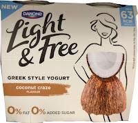 Danone Light & Free Coconut Yogurt