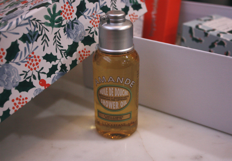 My Little Box December Christmas Edition Loccitane Shower Oil