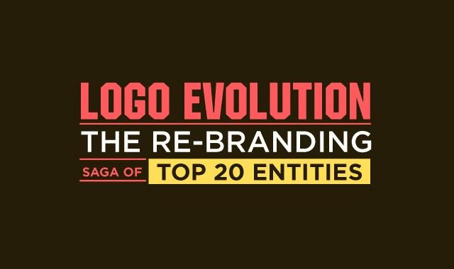 Logo Evolution: The Re-branding Saga of 20 Top Entitles