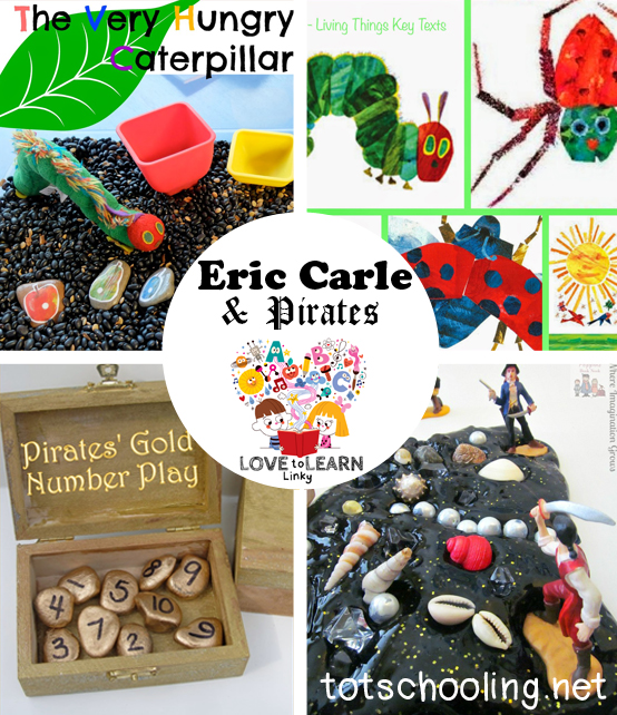 Eric Carle & Pirates: Love to Learn Linky