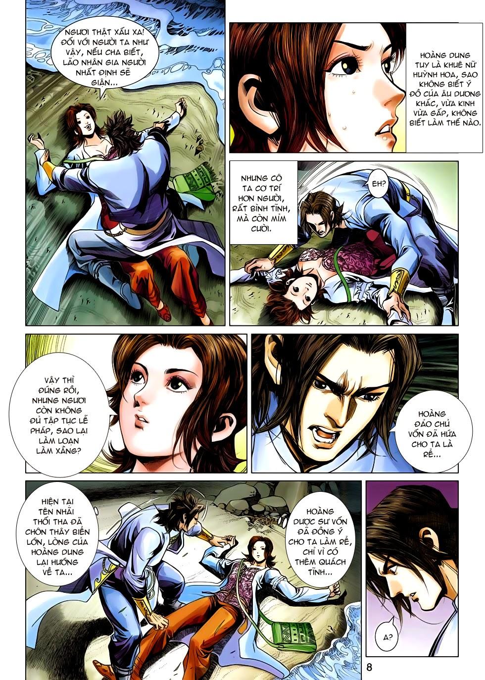 Anh Hùng Xạ Điêu anh hùng xạ đêu chap 54: kiếp hậu dư sinh thiến nữ kỳ mưu trang 8
