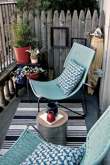 Cómo decorar balcones pequeños-1