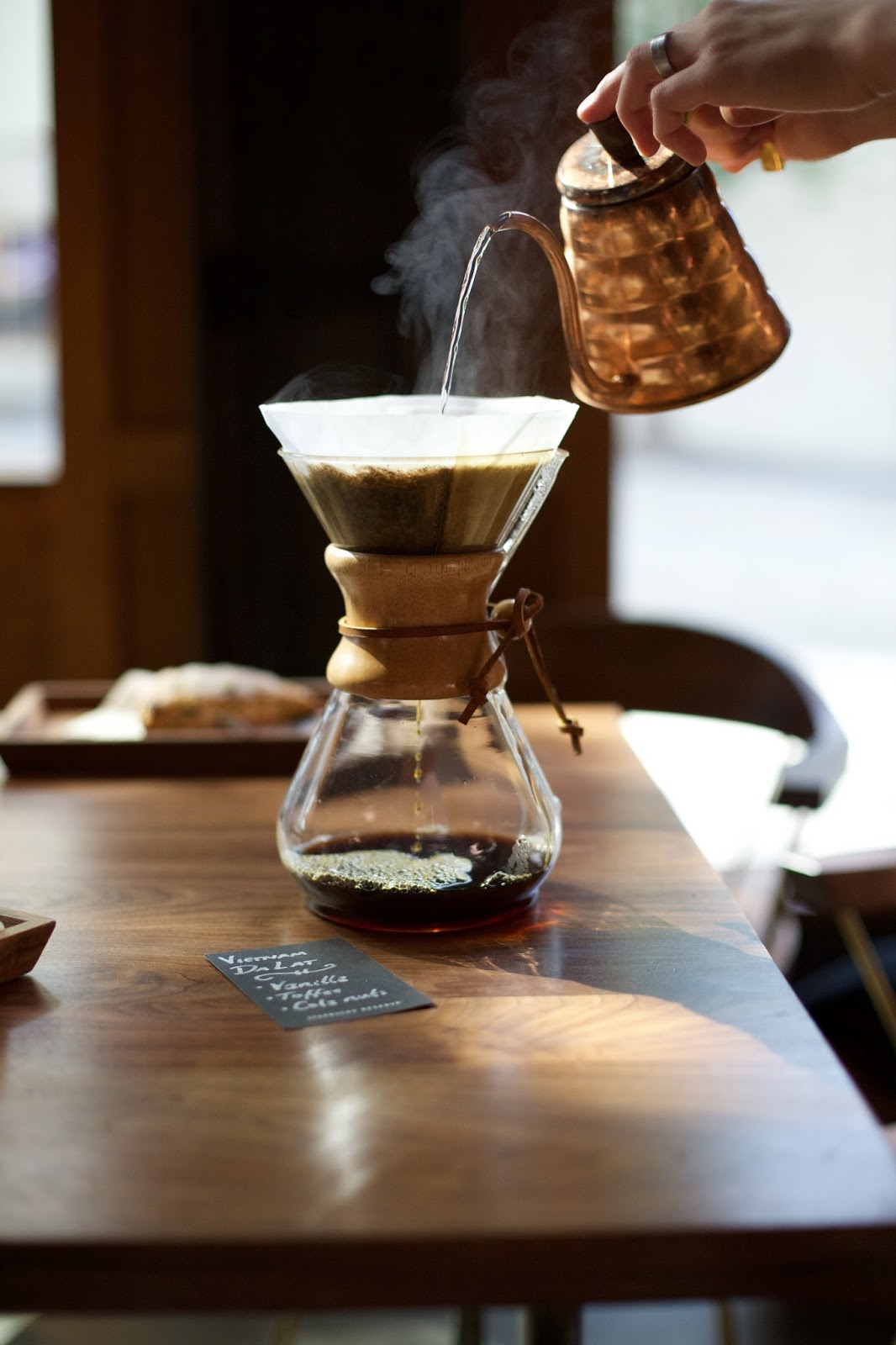 Starbucks Coffee Chemex brewing method