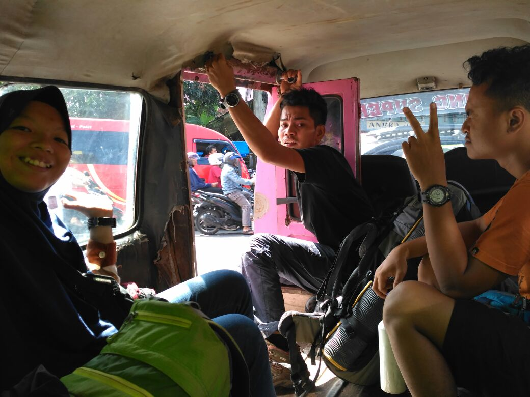 Transportasi ke gunung sumbing