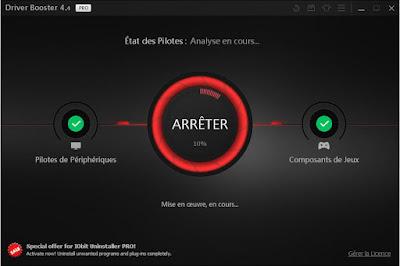 تحميل وتفعيل برنامج Driver Booster V 4.4.0 لتحديث تعريفات الكمبيوتر