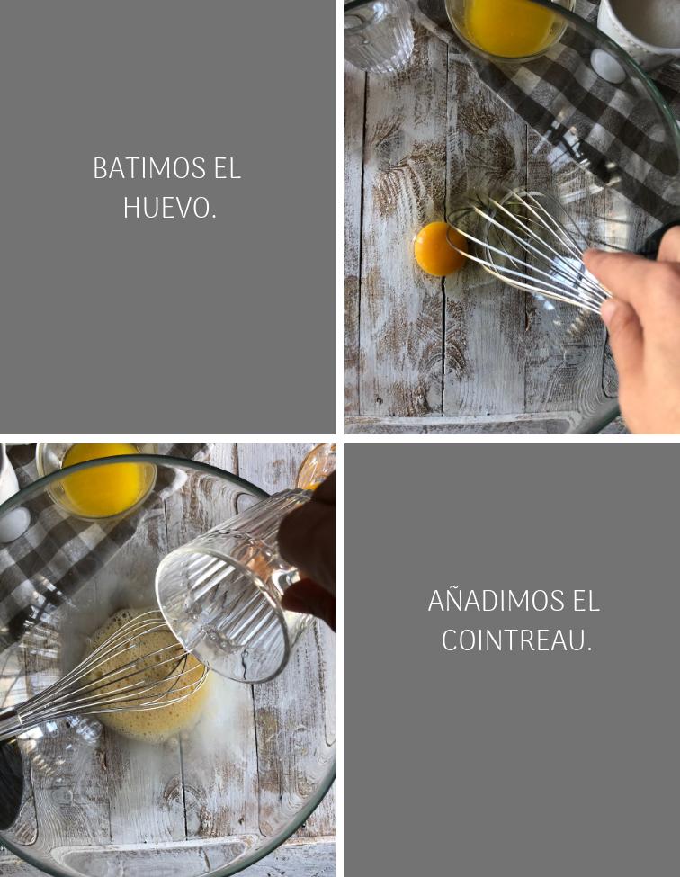 como preparar rosquillas de naranja