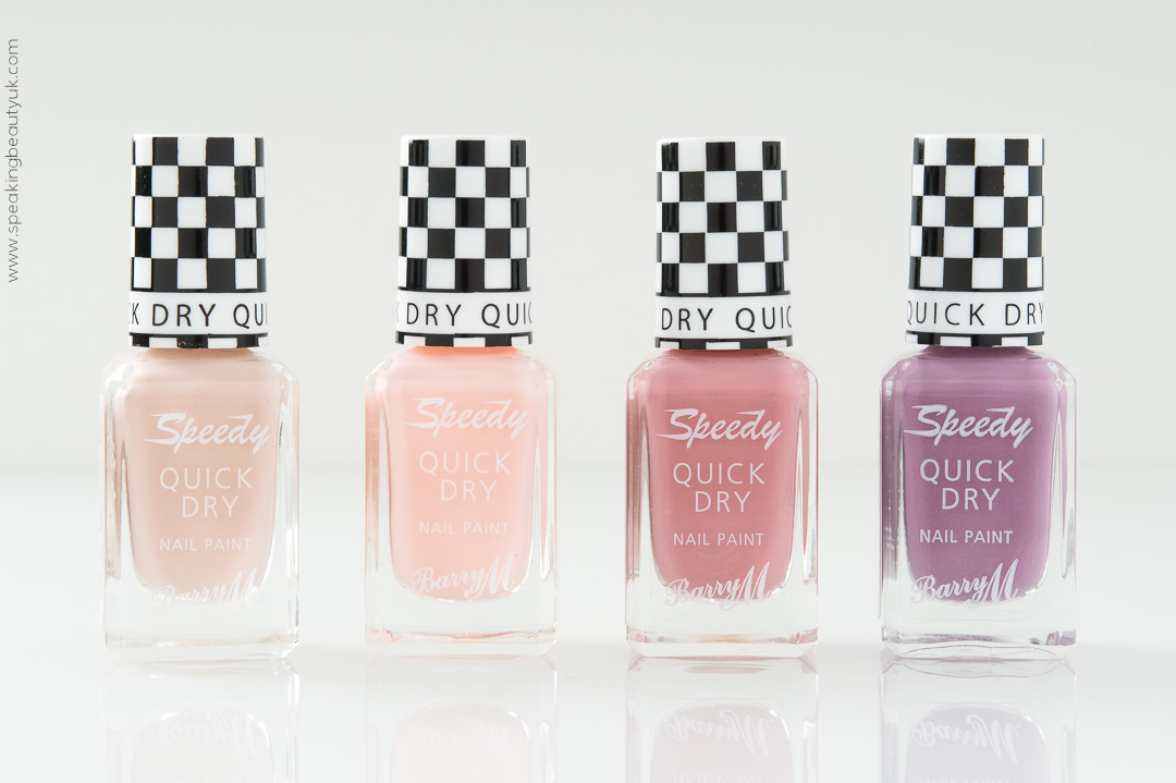 Barry M Speedy Nail Paint Spring 2016