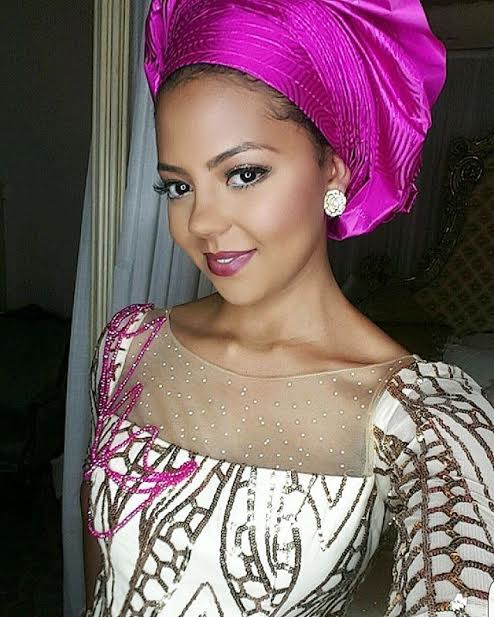 photos adama indimis stunning look to orobosa igbinedion