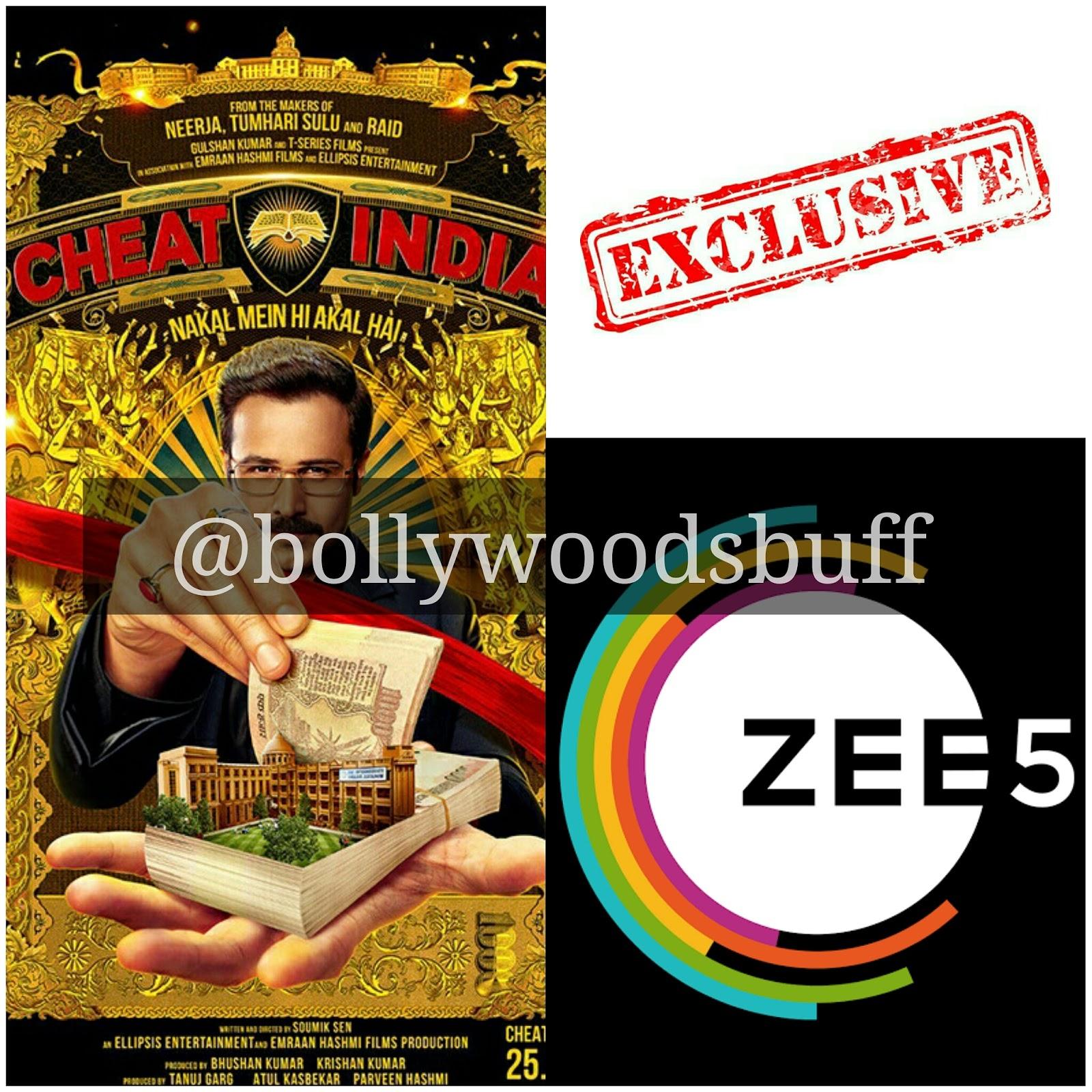 CHEAT INDIA Digital Rights | Bollywood Buff