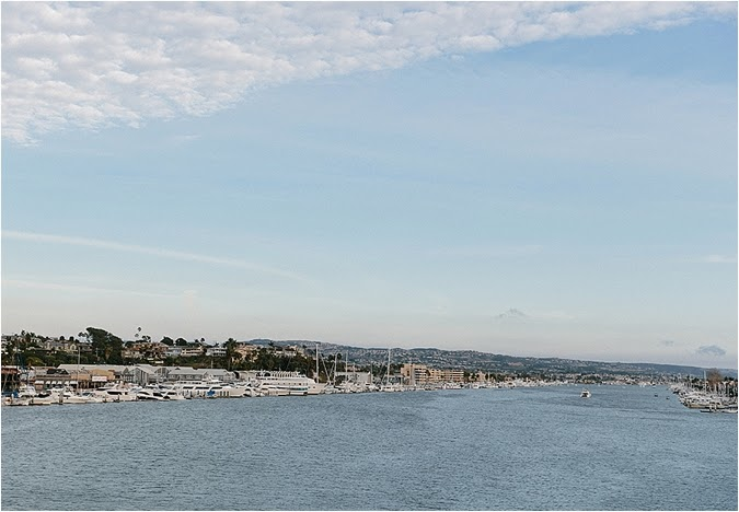 Nautical Newport Beach Yacht Wedding Southern California