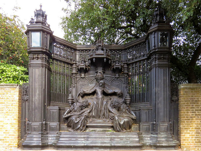 Queen Alexandra Memorial by Alfred Gilbert, Marlborough Road, London
