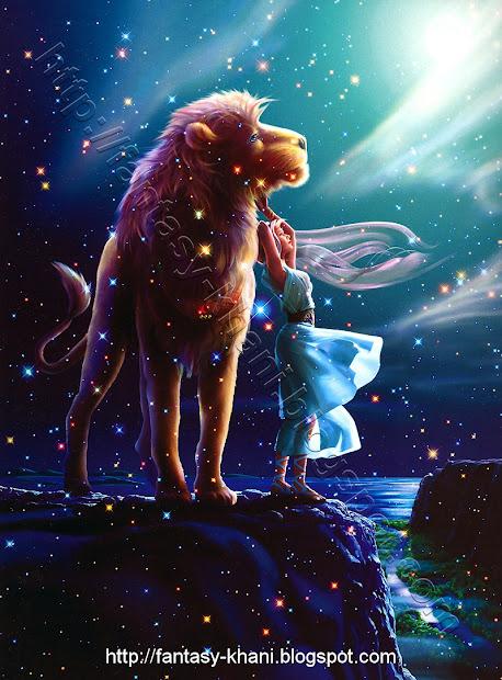 Fantasy Art Horoscope - Leo