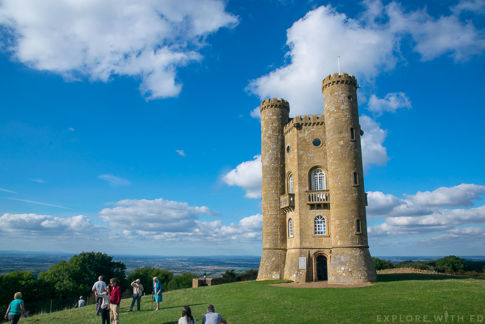 Broadway Tower up close