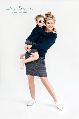 "Polskie ""The Same"": takie same ubrania dla mamy i córki"