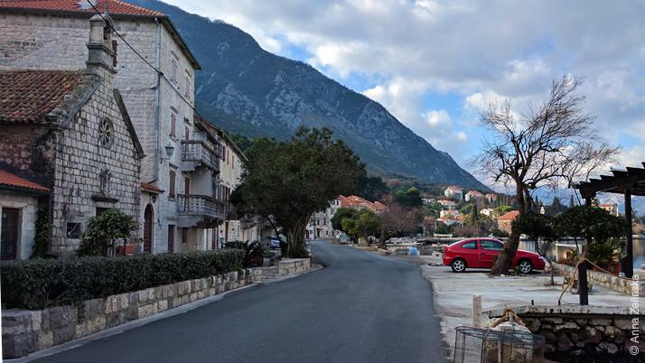 Прчань, Черногория