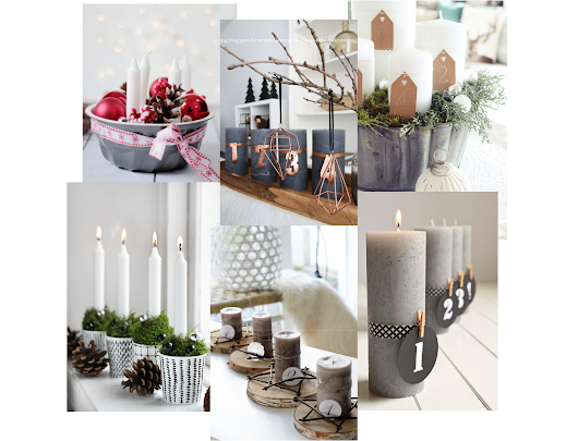 Adventskranz Inspiration