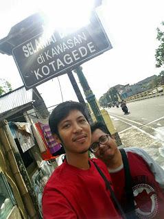 pintu gerbang Kotagede Jogja