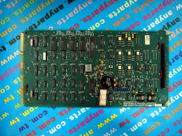FISHER ROSEMOUNT RS3 01984-1011-0003 INTERFACE MINICONSOLE PRINTER CARD