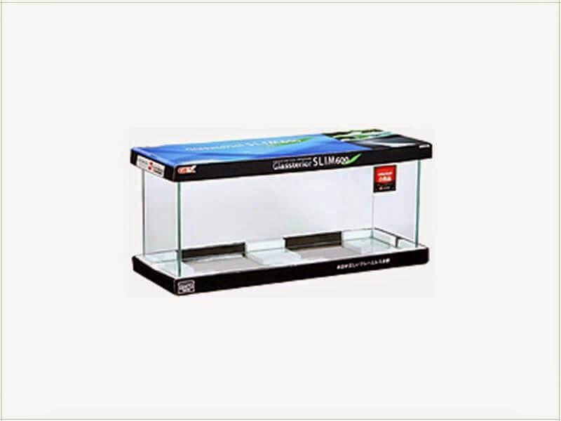 Gambar Daftar Harga Aquarium Kaca Untuk Ikan Hias-Aquarium GEX Glassterior Slim 600