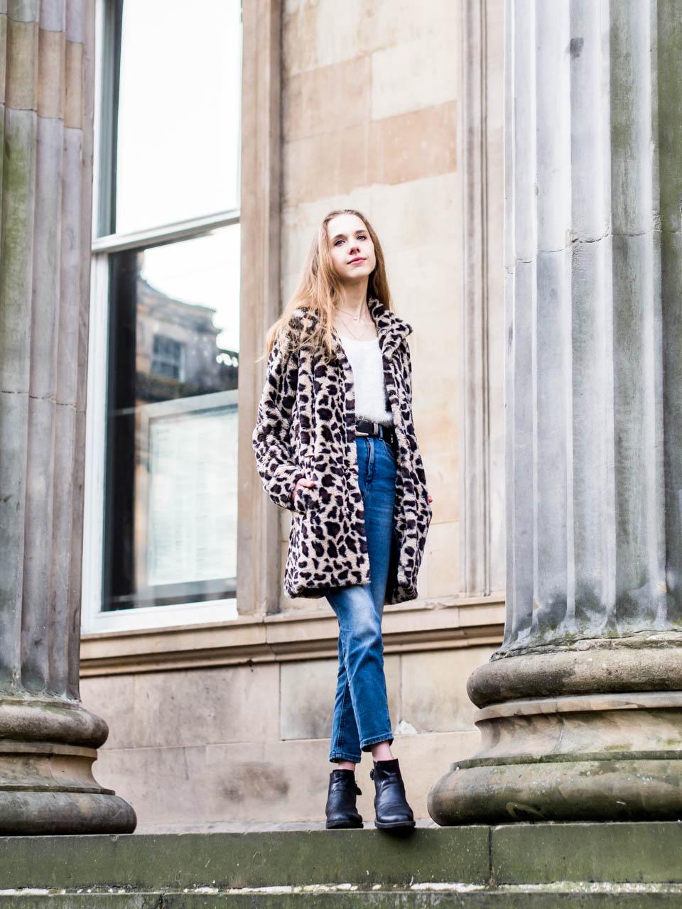 Leopard coat outfit inspiration - Asuinspiraatio: leoparditakki