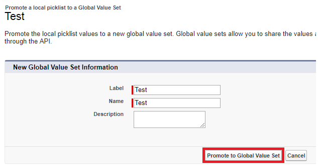 Infallible Techie: How to create Global Picklist Value Sets