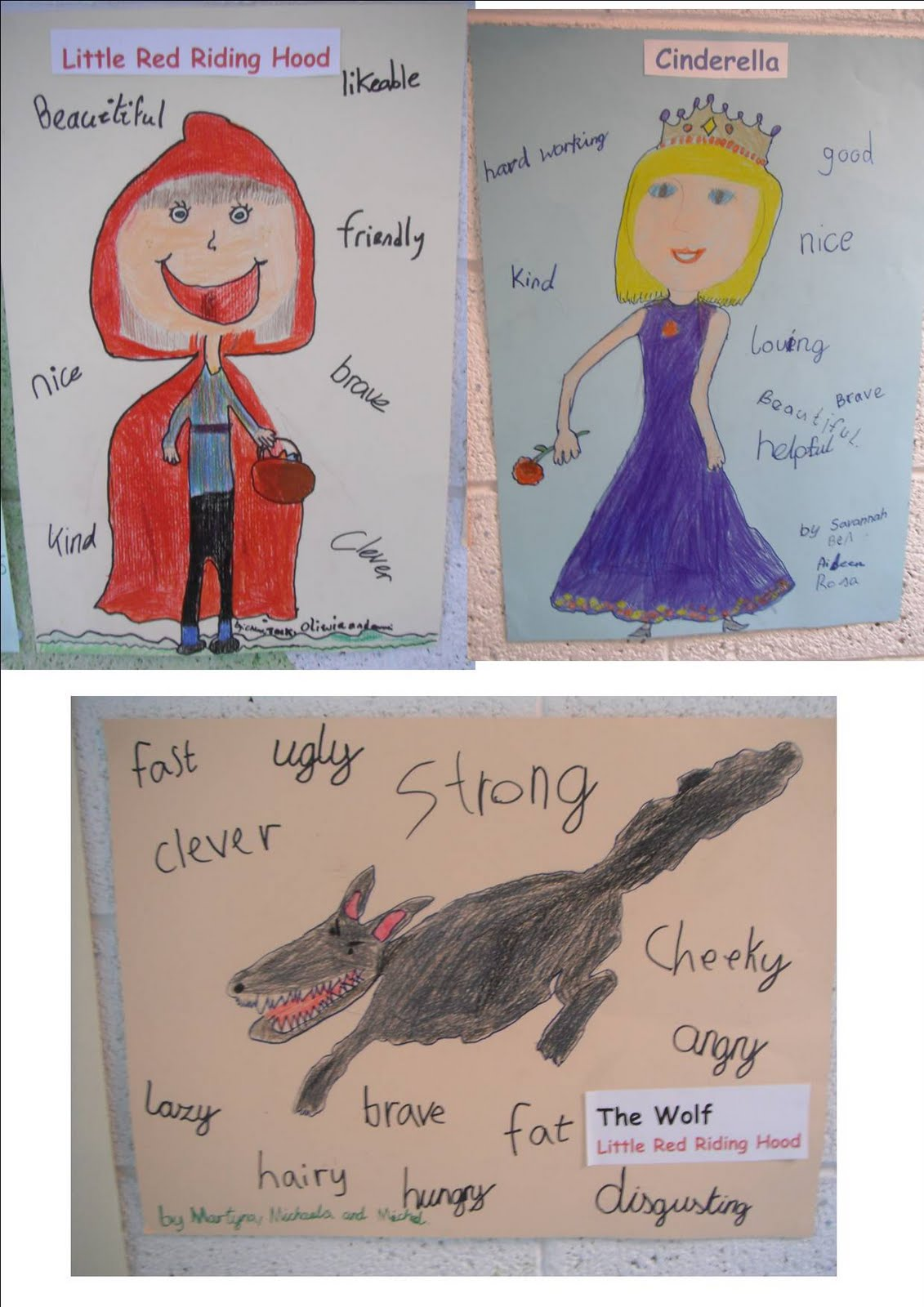 Literacy Site Characters In Second Class