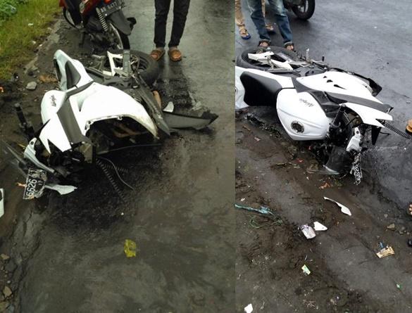 Kecelakaan Maut Ninja 250 Fi di Jogja