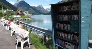 Το χωριό που έχει περισσότερα βιβλία παρά κατοίκους (φωτογραφίες)