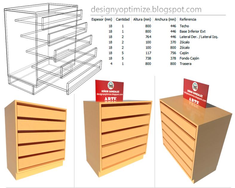 Dise o de muebles madera crear mueble con zapateras for Imagenes de zapateras de madera