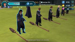 Hogwarts Mystery  clase de vuelo