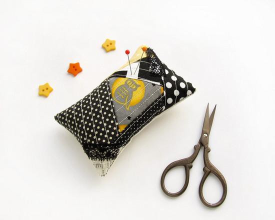 Owl Pincushion, подушка для булавок, сова