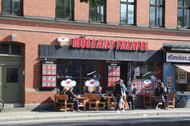 Mollans falafel, Malmö