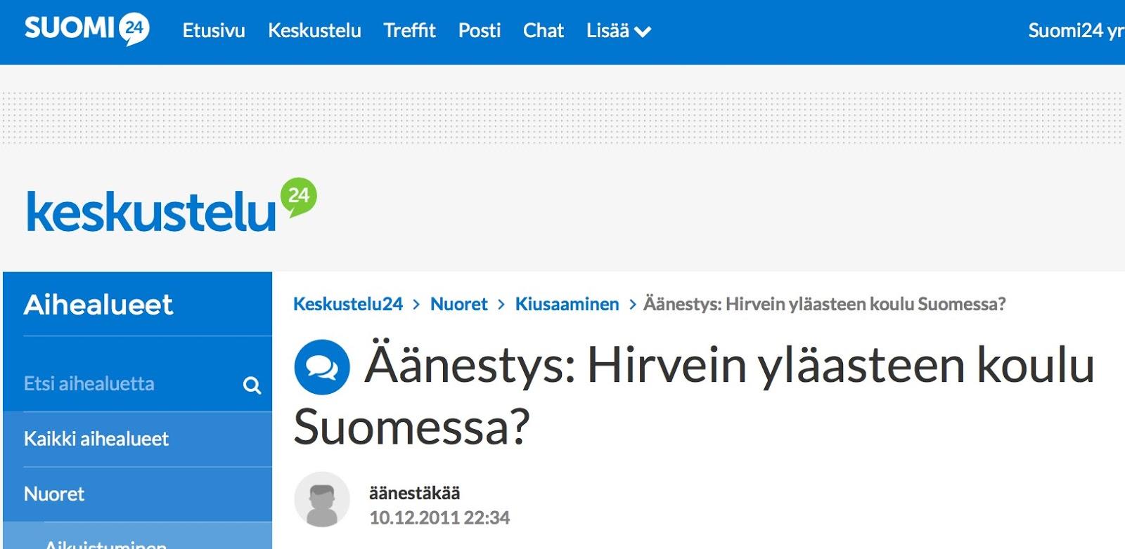 suomi24 chat kokkola avoin yliopisto