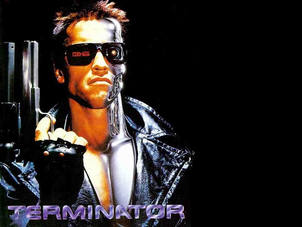 Terminator Time Travel Pose