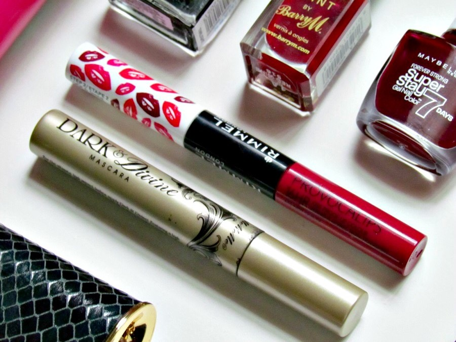 2015 beauty favourites, rimmel provocalips review, mememe cosmetics, dark and divine mascara review