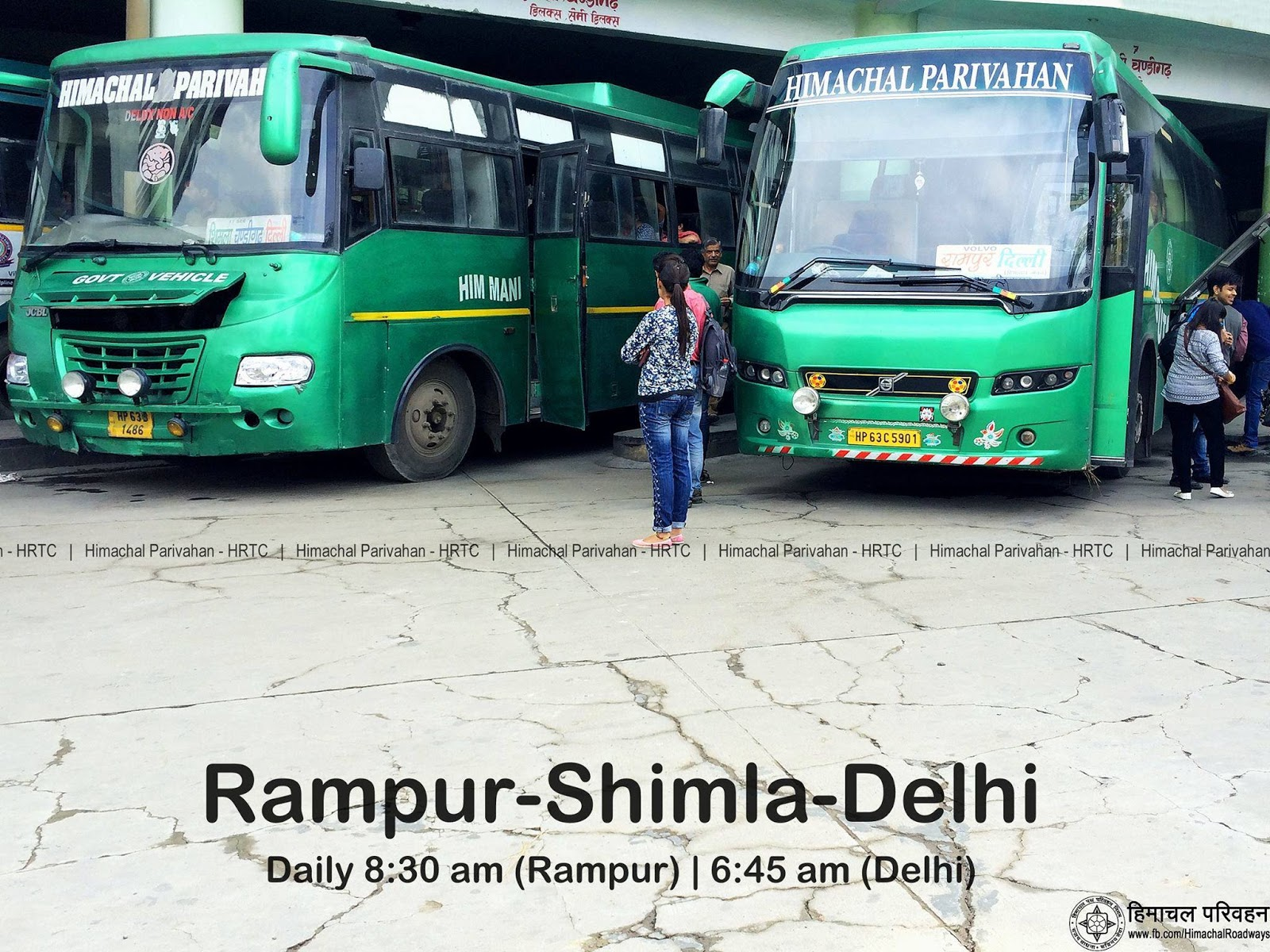 Delhi To Narkanda Volvo Bus Cost And Details