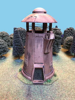 3D printed tower for Star Wars Legion