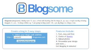 Cara Daftar Blog di Blogsome.com