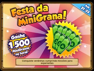 Missão: Festa da MiniGrana!