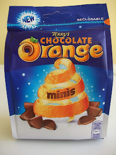 a mini bagged version of terrys chocolate orange