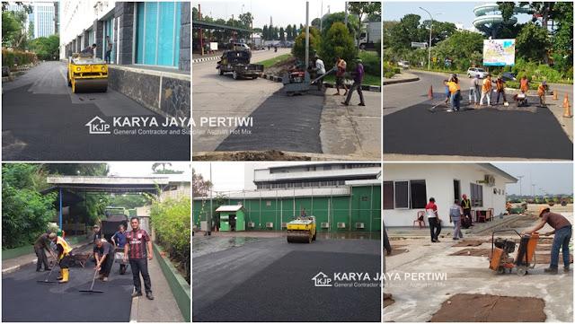 Jasa Pengaspalan Hotmix, Jasa Perbaikan Jalan, Jakarta bogor depok bekasi tangerang serang banten bandung cilegon jawa barat