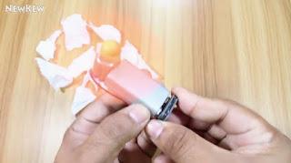bagaimana cara Membuat Kipas Angin Sejuk dengan Baterai 9v