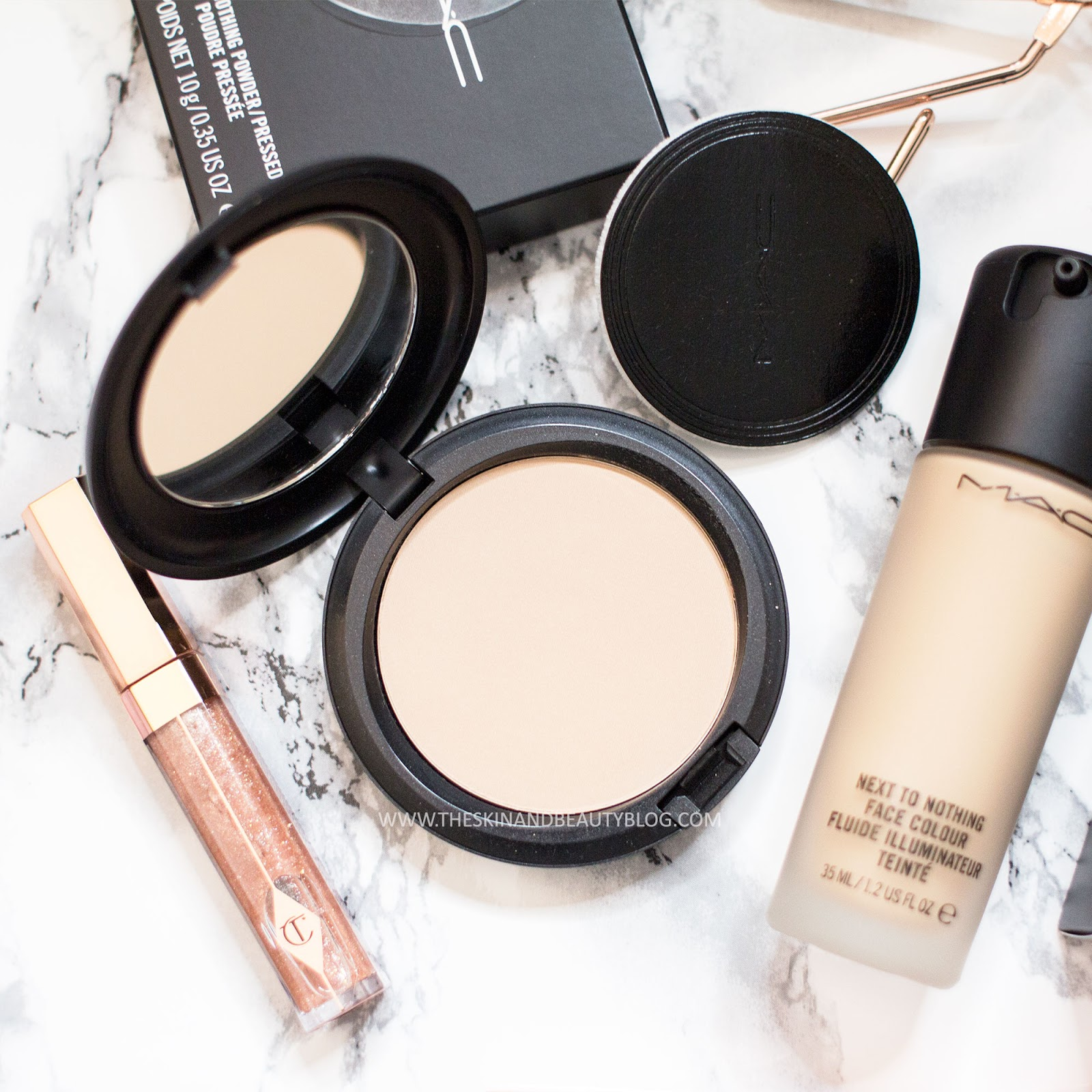 MAC Next To Nothing Powder Medium Plus Review, Swatches NC30