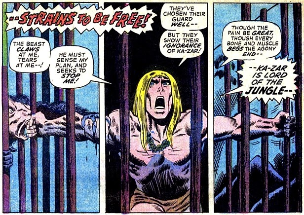 Astonishing Tales #10, Ka-Zar