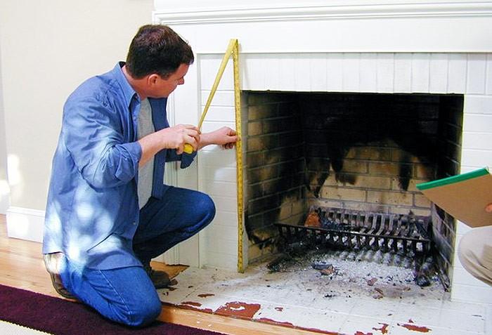 C mo hacer una puerta para chimenea facilmente explico for Como hacer una puerta para chimenea