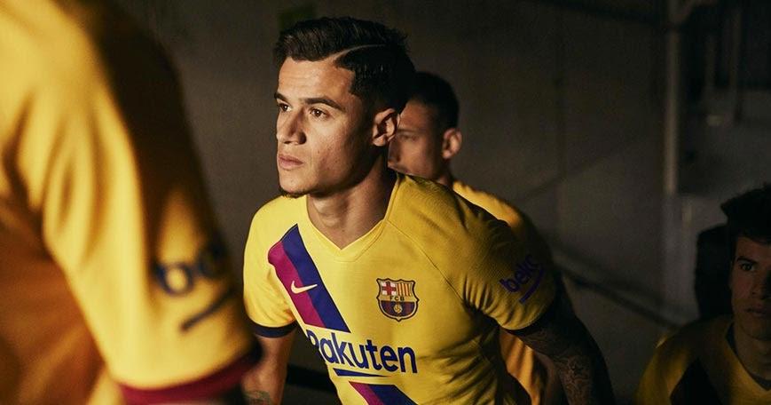 Barcelona 19-20 Away Kit Revealed