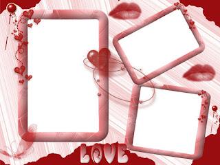 Molduras para fotos namorados gratis