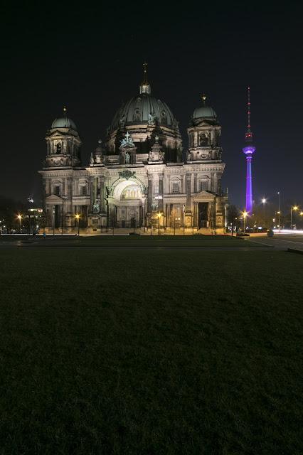 Cattedrale (Dom) di Berlino di notte