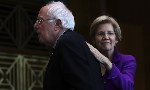 Liberal Millionaires Sanders, Warren to Lecture on Wealth Inequality