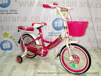 Sepeda Anak Perempuan Pacific Lisella 18 Inci